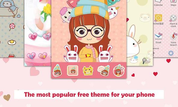 pretty theme and cute launcher apk download free personalization