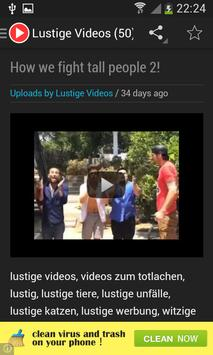 Lustige Videos apk screenshot