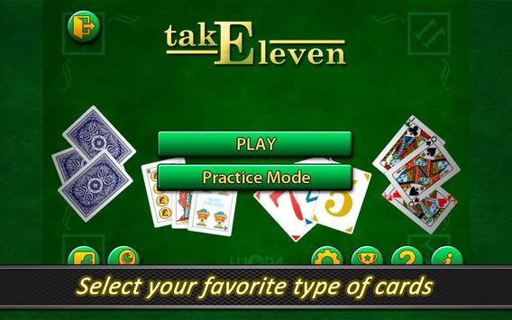 Take Eleven Free apk screenshot