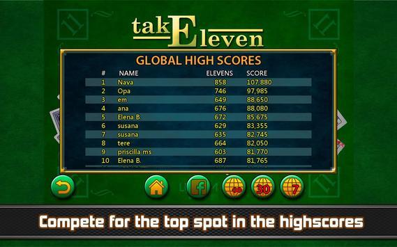 Take Eleven - Eleven solitaire apk screenshot
