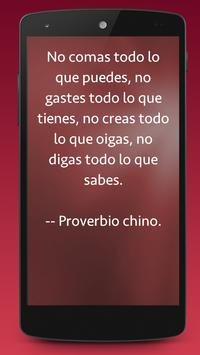Proverbios Chinos poster