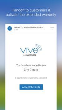 Lutron Vive screenshot 3