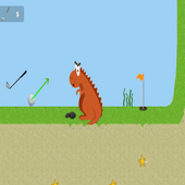 Golf game icon
