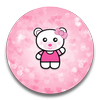 XP Theme Beauty Pink Bear-icoon
