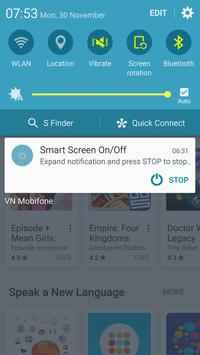 الشاشة الذكية تشغيل / إيقاف تصوير الشاشة 5