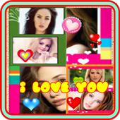 Love Couple Photo Collage icon