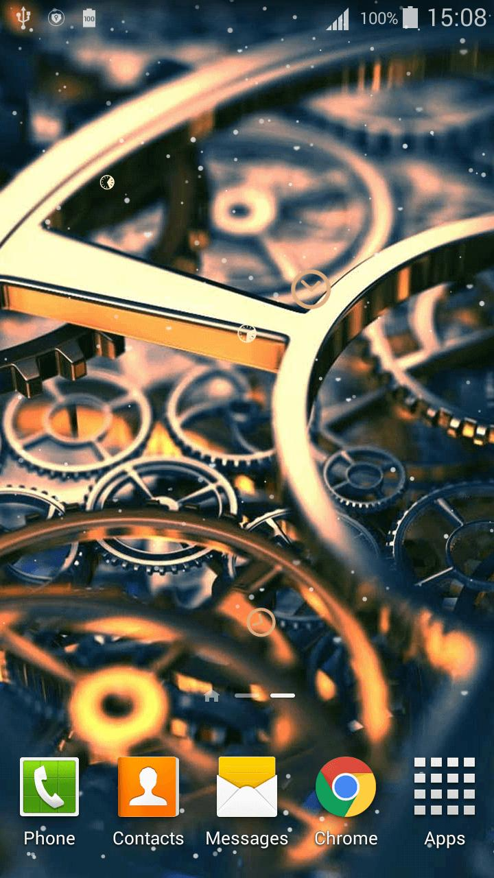 Clock Mechanism Live Wallpaper For Android APK Download