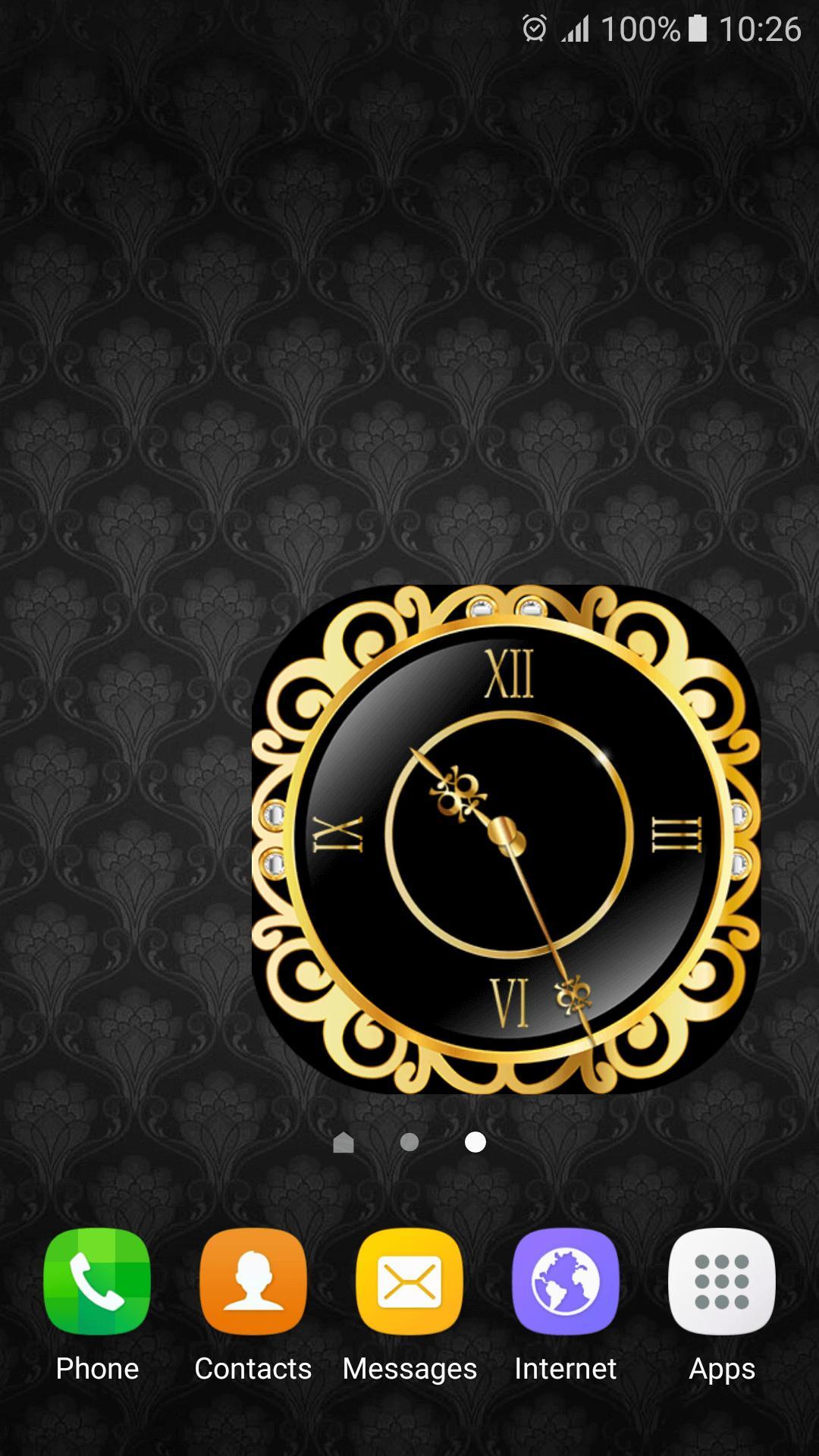 ウィジェット 時計