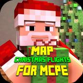Map Christmas Flights for MCPE icon