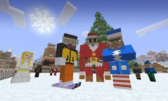 Map Christmas Flights for MCPE apk screenshot
