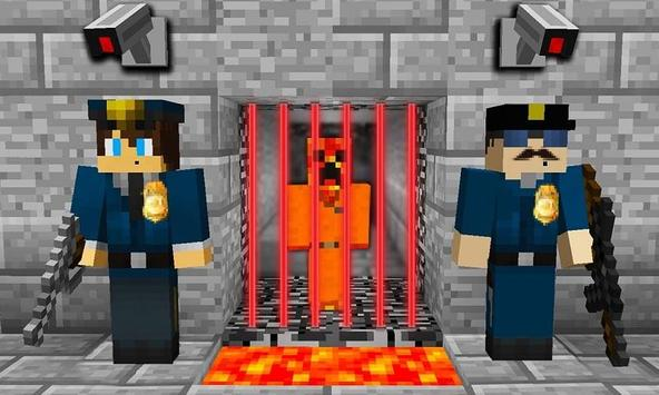 Map Cops N Robbers for MCPE poster
