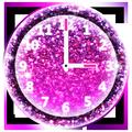 Shiny Clock Widget