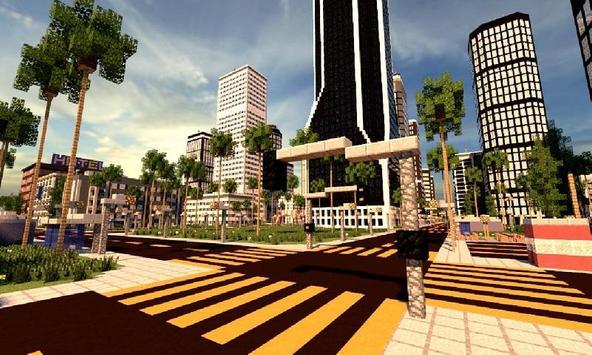 Los Dangeles Map for MCPE apk screenshot