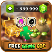 Gems For Clash Of Clans Prank 아이콘