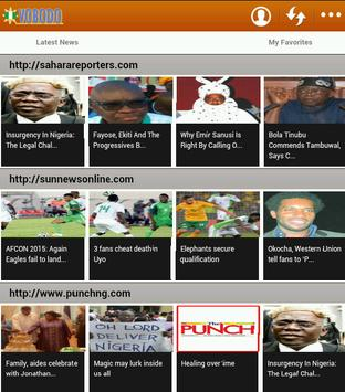 NEWS & JOB VACANCIES NIGERIA apk screenshot