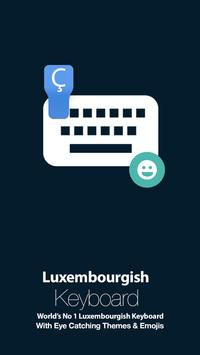 Luxembourgish Keyboard poster