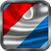 Luxembourg Flag Live Wallpaper icon