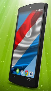 Luxembourg Flag Live Wallpaper apk screenshot