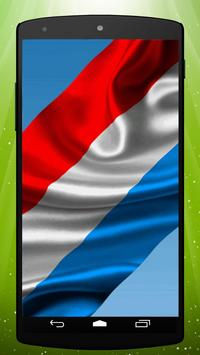 Luxembourg Flag Live Wallpaper poster