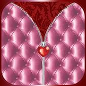 Luxury Zipper Lock Screen icon