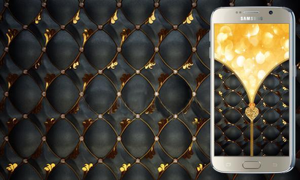 Luxury Zipper Screen Lock apk screenshot