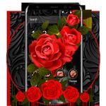 Роскошная черная красная роза APK