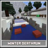 Craft Launcher - Map Winter DeathRun for MCPE icon