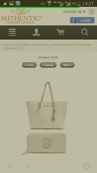 Luxury Outlet screenshot 1