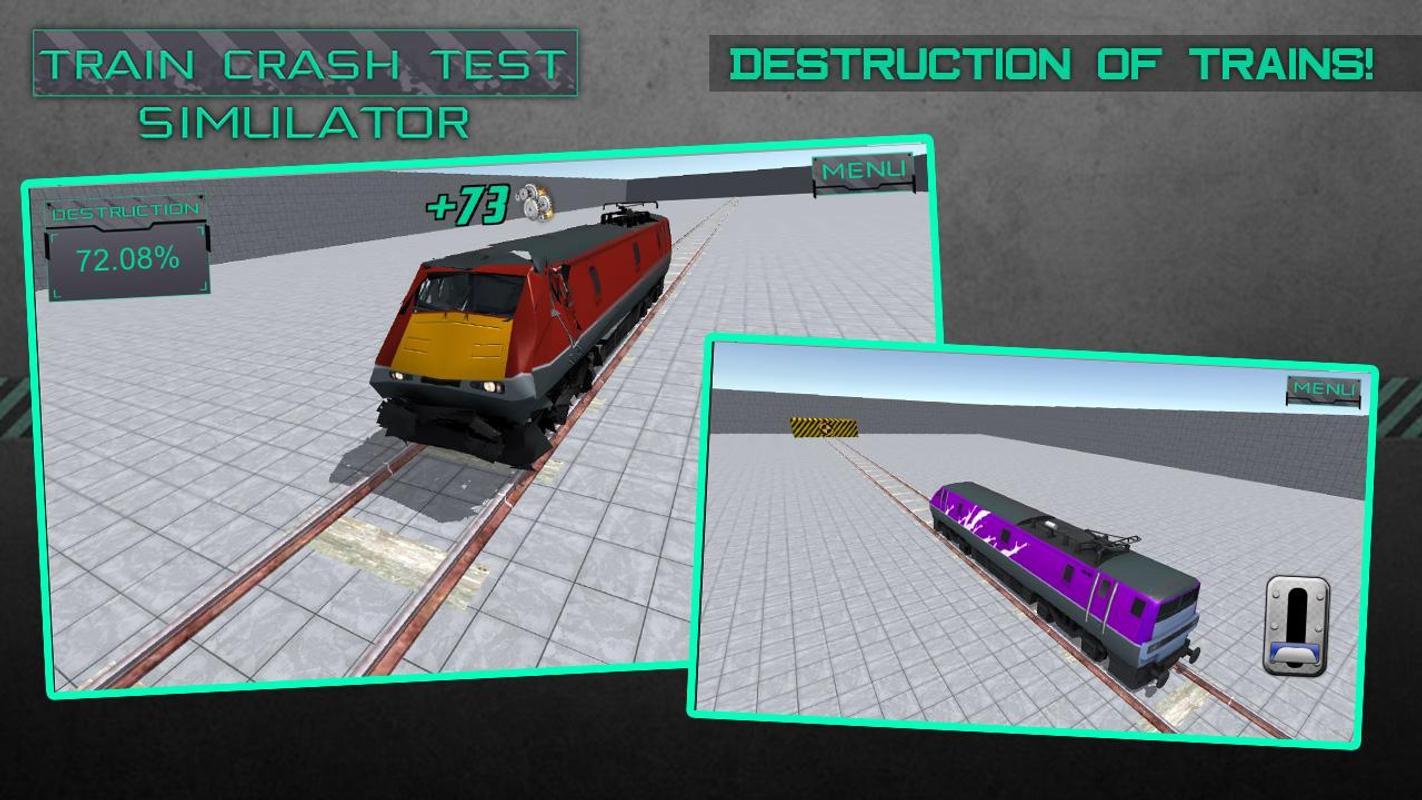 Train Crash Test Simulator APK Download - Free Simulation GAME for ...