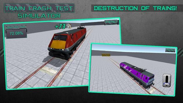 Train Crash Test Simulator apk screenshot