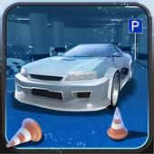 Underwater Parking Car icon