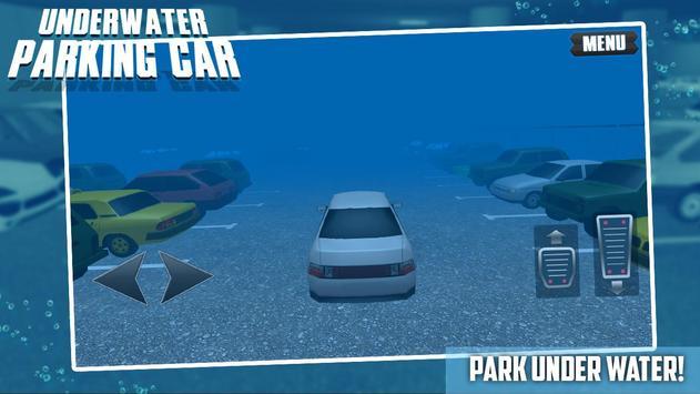 Underwater Parking Car poster