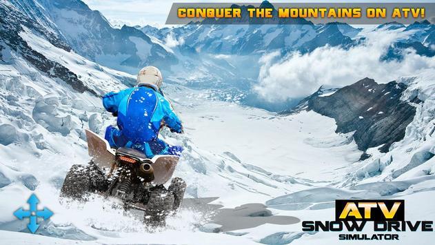 ATV Snow Drive Simulator poster