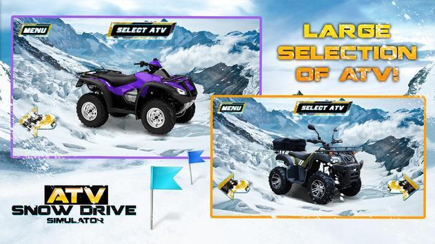 ATV Snow Drive Simulator apk screenshot