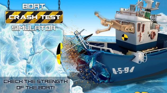 Boat Crash Test Simulator apk screenshot