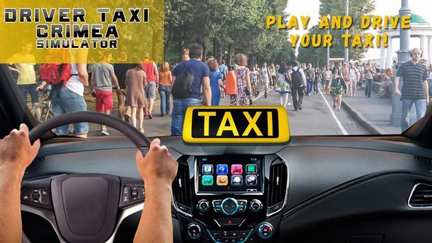 Driver Taxi Crimea Simulator poster