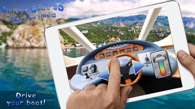 Driver Boat 3D Sea Crimea poster
