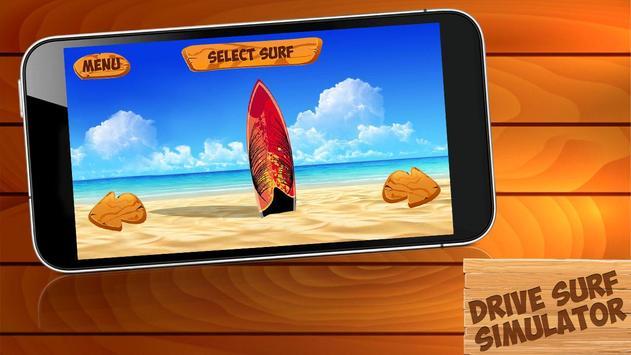 Drive Surf Simulator screenshot 1