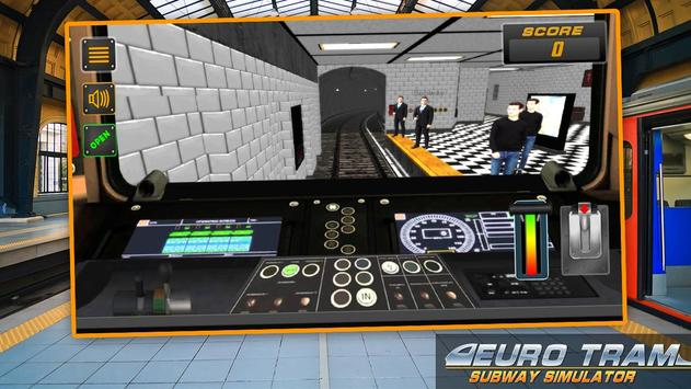 Euro Tram Subway Simulator screenshot 3