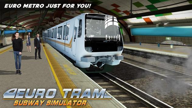 Euro Tram Subway Simulator poster