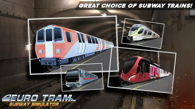 Euro Tram Subway Simulator screenshot 6