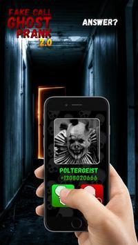 Fake Call Ghost Prank 2.0 screenshot 1