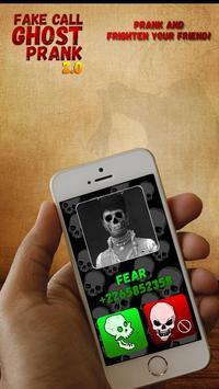 Fake Call Ghost Prank 2.0 screenshot 2