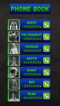 Fake Call Ghost Prank 2.0 screenshot 3