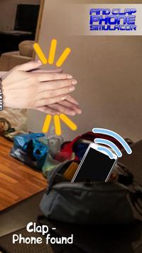 Find Clap Phone Simulator poster