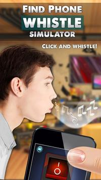 Find Phone Whistle Simulator poster