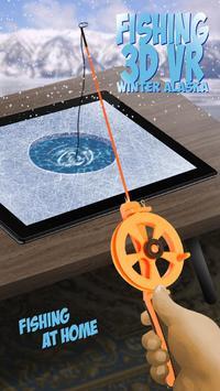 Fishing 3D VR Winter Alaska poster