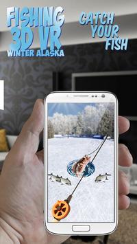Fishing 3D VR Winter Alaska screenshot 1