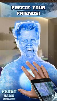 Frost Hand Simulator poster