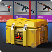 Guns Case Simulator icon